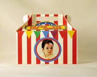 Mini Circus Favor Box