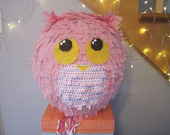 Piñata - Pink OWL