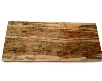 Ambrosia Wood Board, Maple Wood Board, Maple Slab, Wood Slab, Woodworking, Hobby Wood, Craft Supply, Rustic Wood, Home Decor