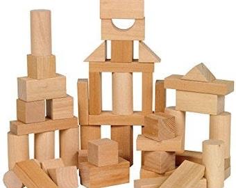 Small Wooden Handmade Blocks