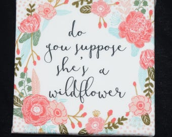 Wildflower Wall Hanging