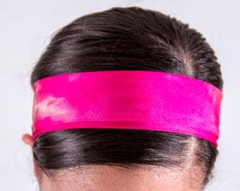 Pink Tie-Dye Regular Headband