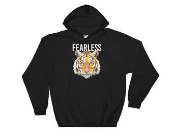 Fearless Lion Hooded Sweatshirt