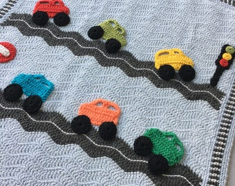 Cars baby blanket