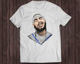 Post Malone Funny Stoney White Shirt, Stoney Post Malone Shirt