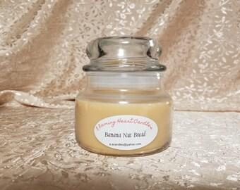 Banana Nut Bread Jar Candle (10 fl oz)