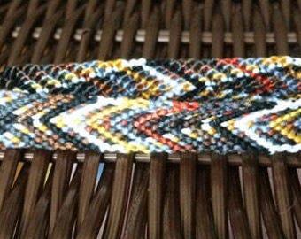 On Sale! Desert-Diamonds Variegated  Handwoven Bracelet