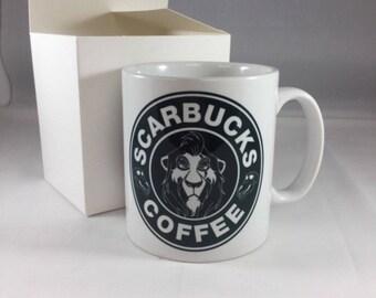Scarbucks Coffee Mug Disney's Lion King Inspired