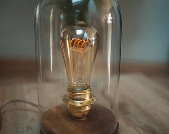 Vintage lamp Bell with filament bulb