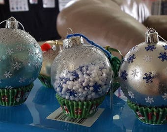 Hand decorated Christmas Ornaments