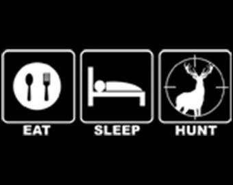 Eat, Sleep, Hunt