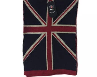 Union Jack scarf one size
