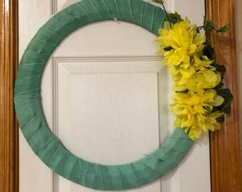 SALE!! Floral wreath