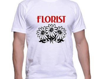 Tshirt for a Florist