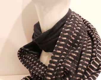 Silk and Merino Scarf