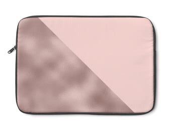 Creamy Pink Laptop Sleeve