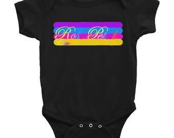 Rose Petal logo Infant Bodysuit