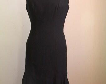 Vintage 1960s Little Black Dress so Audrey Hepburn!