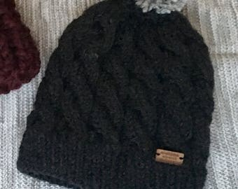 Adult toque / cabled toque