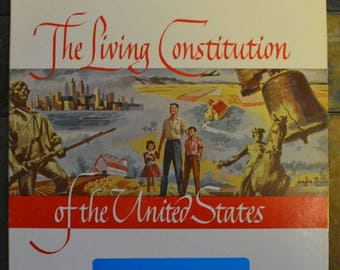 The Living Constitution Of The United States Album -  Kaydan Records -conductor Robert Armburster
