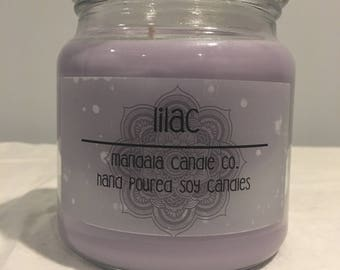 Soy Candle - 16 oz - Lilac