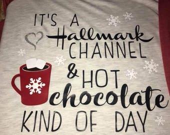 Christmas Raglan- Hot Chocolate Kind of Day