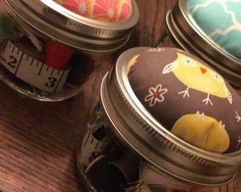 Sewing Kits with Built In Pin Cushion