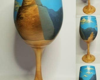 Game of Thrones Inspired Wine Glass