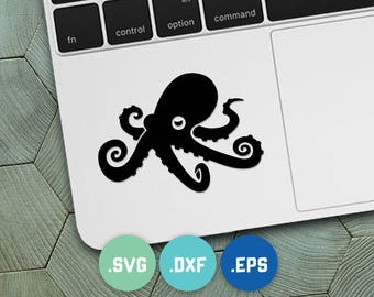 octopus eps, octopus cricut, octopus cameo, octopus svg, octopus dxf, octopus cut file, ocean svg, ocean cut file, sea svg, kraken svg
