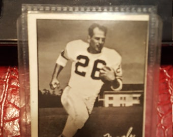 1961 Topps CFL Football Card #11 Baz Nagle Vancouver Lions.Combined shippping