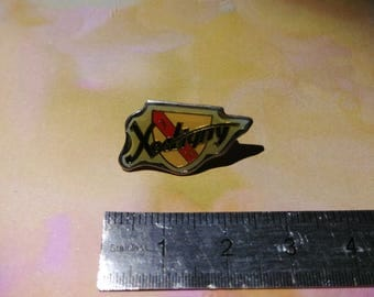 PIN enamel pin vintage from the municipality in the Vosges Xertigny