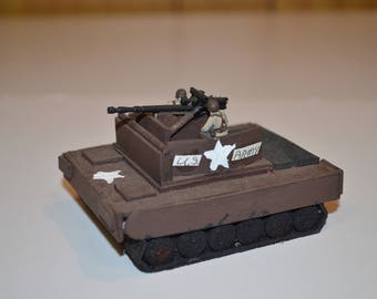 Handmade WWII US Army (Assault) tank #1