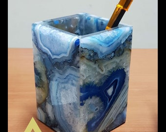 Agate Pen Stand
