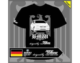 T-shirt BMW 225i Active Tourer Luxury Line (F45)