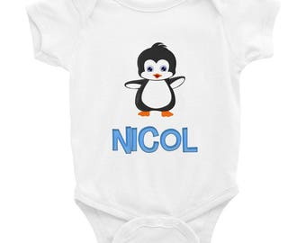 Nicol Penguin Infant Bodysuit