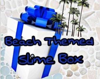 Beach Themed Slime Box