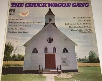The Chuck Wagon Gang Classic Gospel Record Album Lp