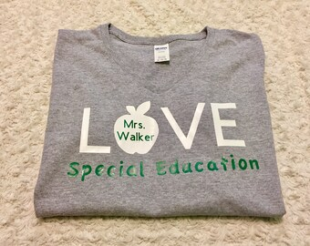 Special Education Shirt