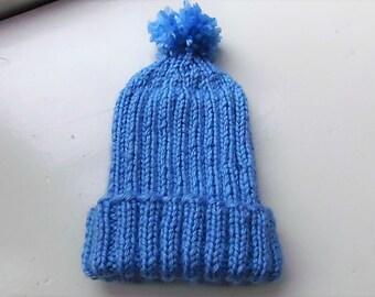 Baby Hat with Pom-Pom