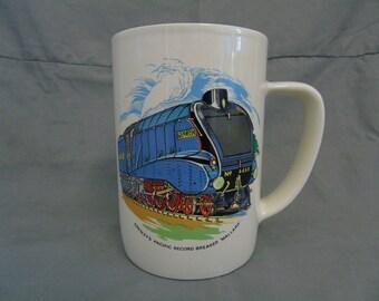"""large ironstone pottery """"the mallard"""" mug"""
