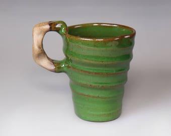 Glost-fired Earthen Coffee mug;Handmade;pottery mug,espresso cup, mug, ceramic, coffee mug,unique coffee mug, japanese style, taiwan pottery