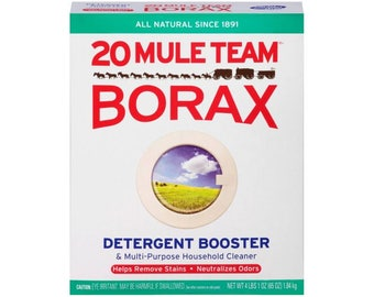 Borax Laundry Detergent Cheap For Slime Activator!