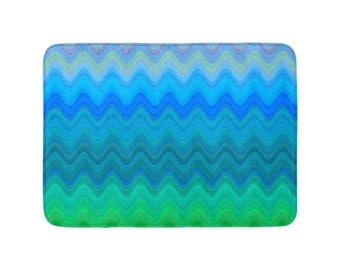 Bath Mat - Anti-Slip, 3 different sizes, All The Waves
