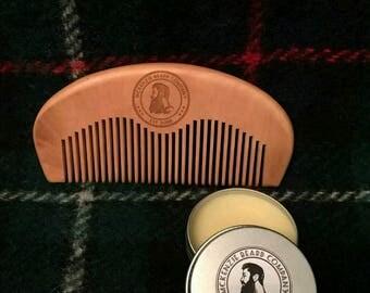 McKenzie Beard Company - 15ml Explore Beard Balm and Beard Comb