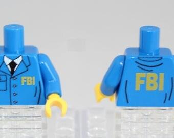 FBI custom torsor for LEGO® minifigures