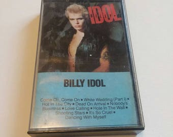 Billy Idol - self titled cassette tape