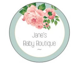 Jane's Baby Boutique Brand Stickers