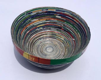 African Paper Bowl