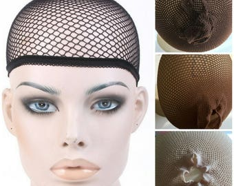 10 Wig Caps Hair Stocking Weave Net