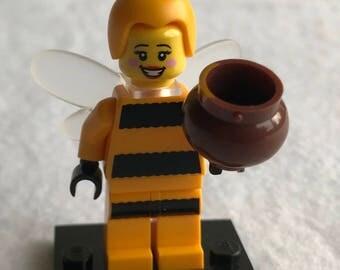 LEGO minifigure, Bumblebee Girl Series 10